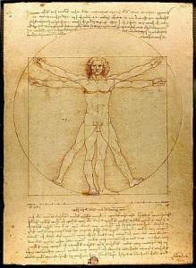 La thérapie Psycho-Energétique ; C'est quoi ? Homme-de-vitruve-219x300